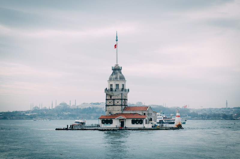 Djevojačka kula (Kiz Kulesi) u Istanbulu