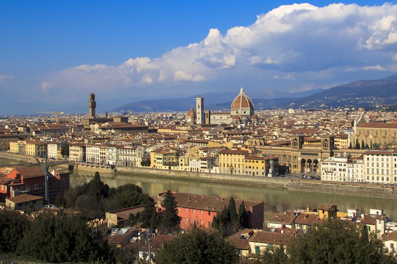 Michelangelov trg (Piazzale Michelangelo) u Firenci