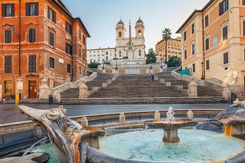 Španjolske stube (Scalinata della Trinità dei Monti) u Rimu