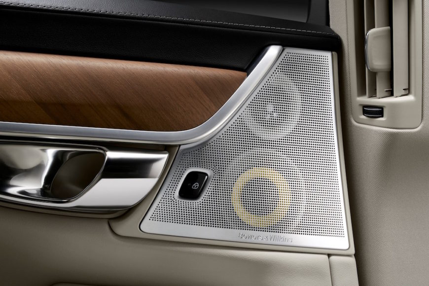 Interior Bowers and Wilkins Rear Door Speakers Volvo S90 1