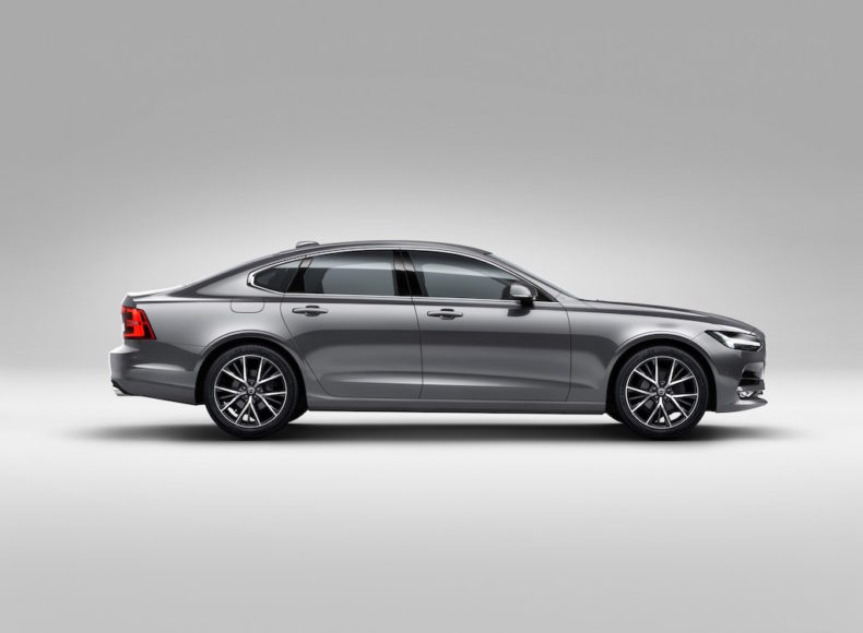 Profile Right Volvo S90 Osmium Grey