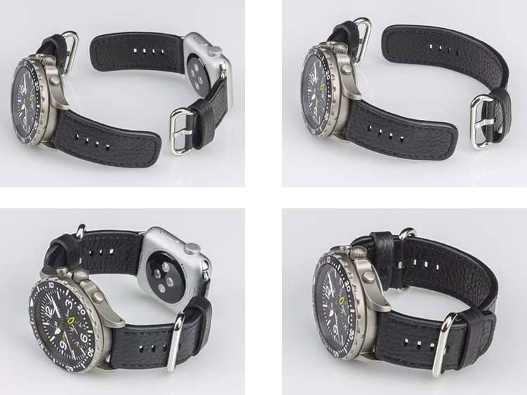 DVA SU SVIJETA RAZLIČITA Duale Bandsystem vam omogućuje da na jednoj ruci nosite dva sata