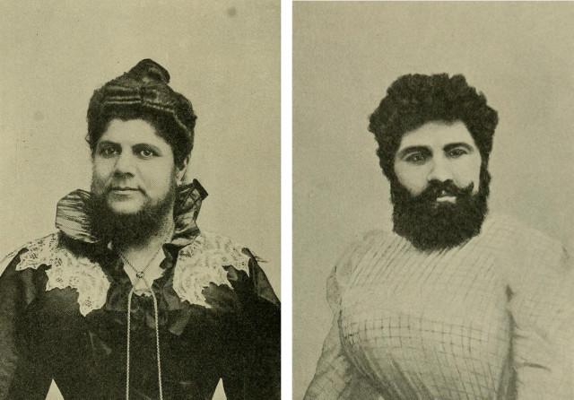 Gospođe Josephine Budra i Anna Hudjos, 1908 godina.