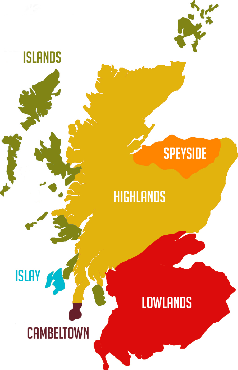 whisky-region-maps