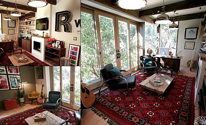 Soba američkog glumca Rainna Wilsona u Los Angelesu