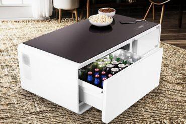 KUĆNI HEDONIZAM Ovaj pametni stolić za dnevnu sobu ima ugrađeni hladnjak