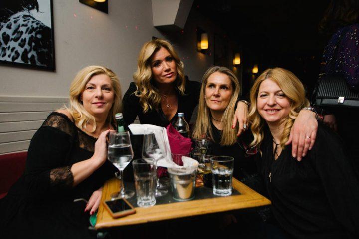 Suzi Josipović, Vanja Horvat i prijateljice
