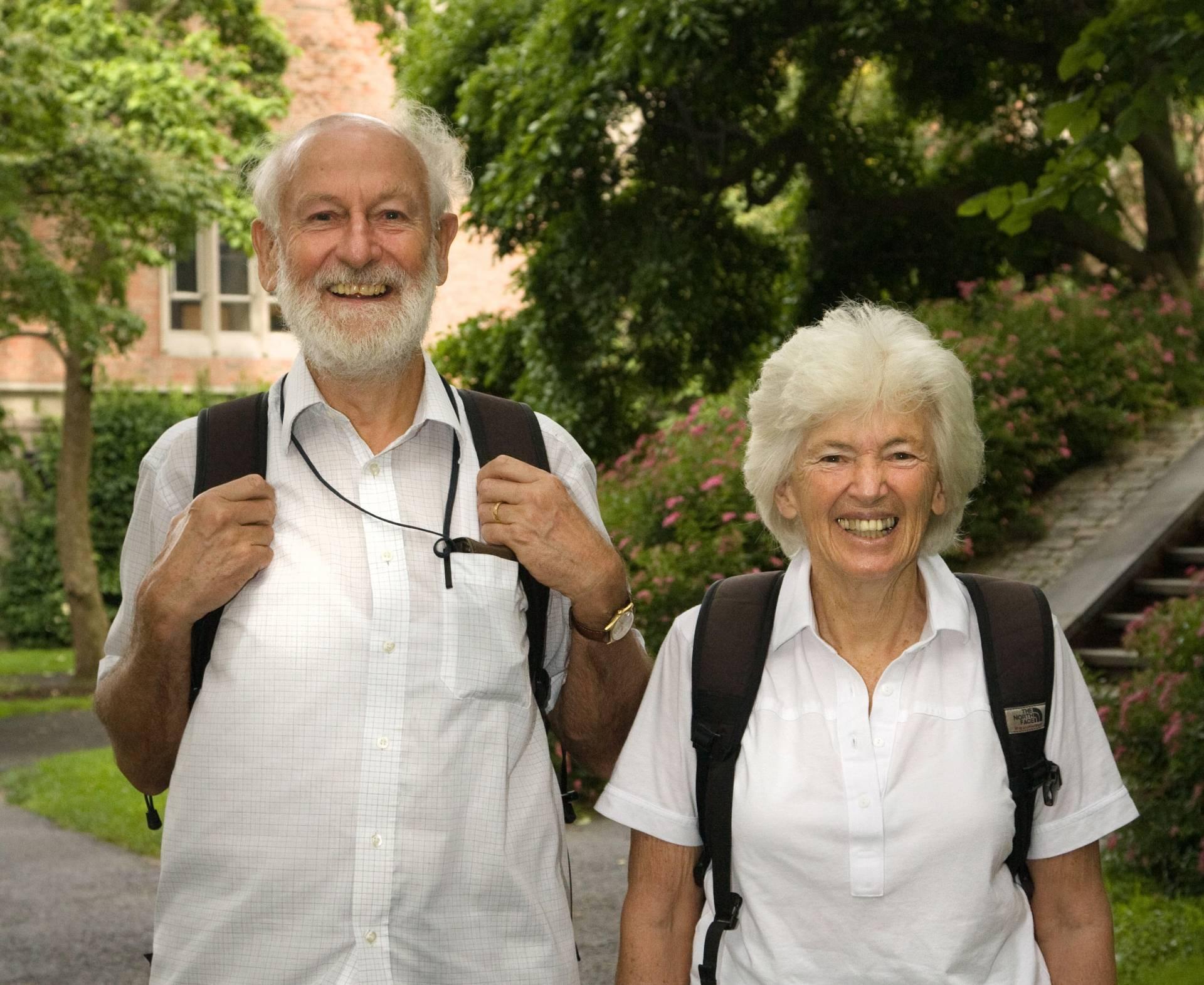 Peter i Rosemary Grant