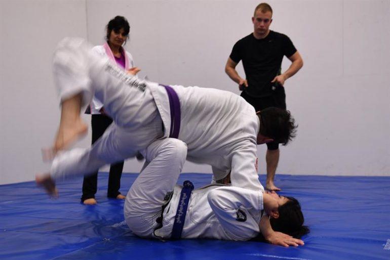 Web stranica za borilačke vještine