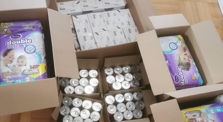 Donacija KPR-a i Vitashop.hr za unesrećene u potresu